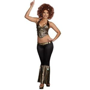 Adult Staying Alive Disco Costume